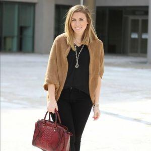 Hello Fashion Camel Shrug